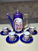 Altwien kávés készlet 4 személyes