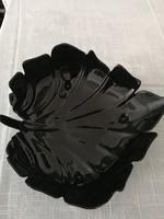 Fekete üveg kínáló