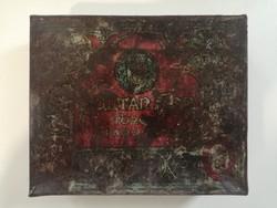 Magyar királyi dohány jövedéki doboz 1920