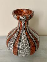 Gyönyörű Gorka Géza váza retro modern mid century
