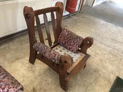 Szatmári kanapé és fotel'