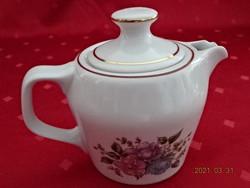 Hollóházi porcelán kávéfőző felső része, kisméretű.