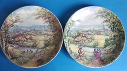 Arzberg porcelán falidísz dísztányér 2 db