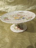 1 ft os aukció. Zsolnay kínáló gyümölcsökkel 1890