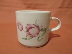 Retro Alföldi tulipános bögre, csésze