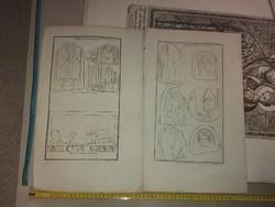 Két rézkarc a 18.század vége felől, vízjeles papíron, méret jelezve!