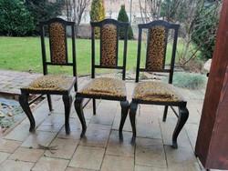 3 db felújítandó antik szék együtt eladó