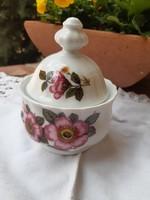 Szép virágos cukortartó