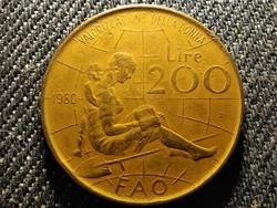 Olaszország FAO - Nemzetközi nőév 200 Líra 1980 R (id27480)
