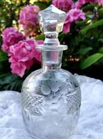 Antik  kristály butélia