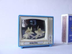 Régi, retró képnézegetős játék TV, kistévé-működik