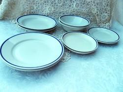 Zsolnay   tányér  10 db