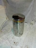 Zepter kávé tartó záró fedéllel, aromazáró...cukor tartó doboz.