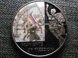 Libéria A szabadság pillanatai Nagy októberi szocialista forradalom - 1917 10 Dollár 2 (id47365)
