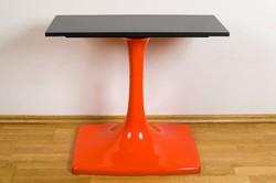 Iparművészeti retro design konzol asztal, Tv állvány az 1970-es évekből