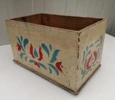 Tulipános fa doboz, ládika
