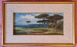 Markó Henrik- Ravennai fenyőerdő