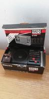 Philips D1700 Zsebrádió - Dobozában + Fülhallgatója