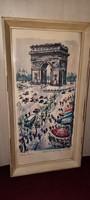 Párizsi Diadalív festmény