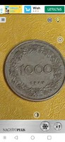 1924 Oesterrich 1000 kronen fémpénz
