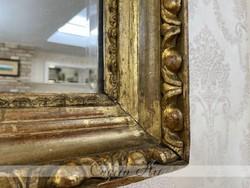 Ökörszemes antik Biedermeier tükör