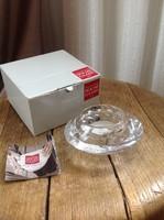 Dán Holme Gaard kristály üveg mécsestartó dobozában, új