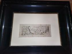 Több mint 400 éves rajz!!!!!! 1618 ból. Igazi gyűjtői ritkaság!!!!!