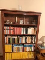 Biedermeier - utángyártott, újszerű- könyvesszekrény