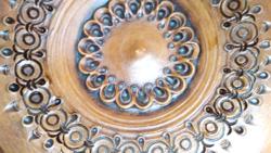 Kerámia cserép falitál