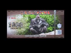 UNC - LA SAVANNA - 1000 FRANCS - AFRIKA - 2020