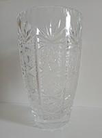 20 cm-es Ólomkristály váza