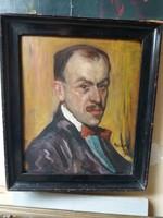Gimes Lajos,önarckép 1911