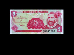 UNC - 5 CENTAVOS - NICARAGUA - 1991