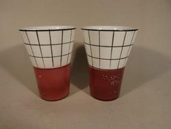 Régi Gránit poharak 2 db