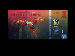 UNC - ATLANTIC FOREST - 2 AVES DOLLÁR - 2016