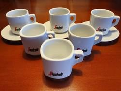 SEGAFREDO cappuccino csészék + alj