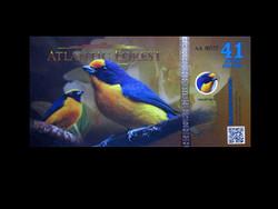 UNC - ATLANTIC FOREST  - 41 AVES DOLLÁR - 2019
