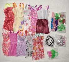 Barbie baba ruha + cipő+ kellékek