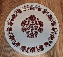 Alföldi porcelán falitányér