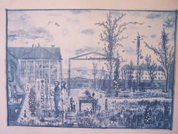 Gross Arnold: Tordai műterem I. 1965 (Grafikai művek szakértője által bevizsgált alkotás)