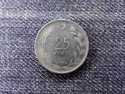 Törökország 25 kurus 1960 (id16539)