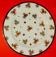 Zsolnay hand painted wall decoration, wall plate