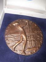 Magyar hidrologiai társaság kitüntetés 1996 Dulovics Dezsőnek