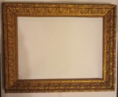 Aranyozott képkeret 21x27 cm