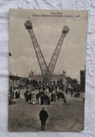 Francia-Brit Kiállítás fotólap/képeslap London 1908