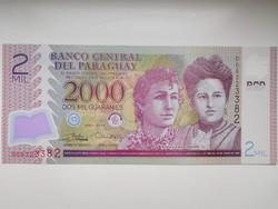 Paraguay 2000 guaraniis 2017 UNC