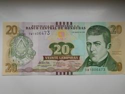 Honduras  20 lempiras 2012 UNC