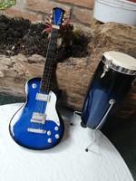 Fa hangszerek, díszek 23-15 cm