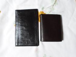 Irattárca, irattartó tárca, pénztárca (fekete, barna)