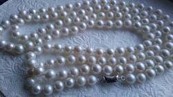 Déltengeri gyöngy nyaklánc 120 cm